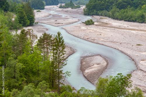River Tagliamento, Trentino...