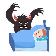 Kids Having Bad Dream