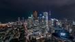 Toronto Canada City Skyline Timelapse at Night