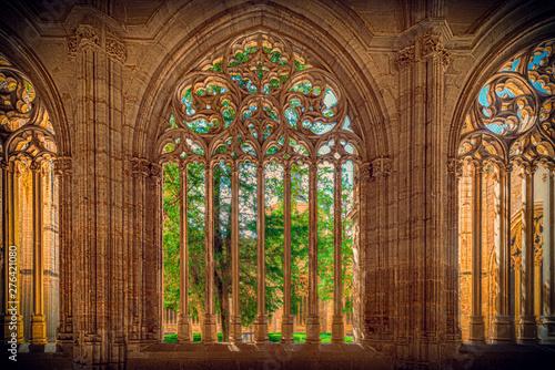 Fototapeta Vista del centro de Segovia, España
