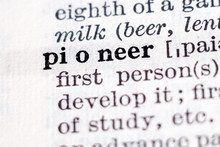 Definition Of Word Pioneer