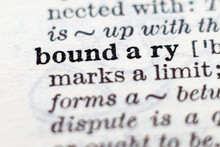 Definition Of Word Boundary