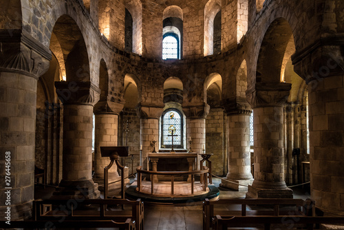 Foto LONDON, ENGLAND, DECEMBER 10th, 2018: Chapel of St John the Evangelist inside th