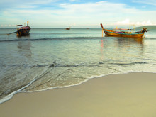 Small Fishing Boats In Thailand