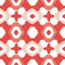 Geometric Puzzle Mosaic Seamle...