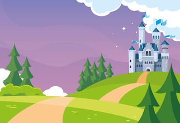 castle building fairytale i...