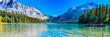 Leinwanddruck Bild - Emerald Lake,Yoho National Park in Canada,banner size