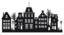 Laser Cut Amsterdam Style Hous...