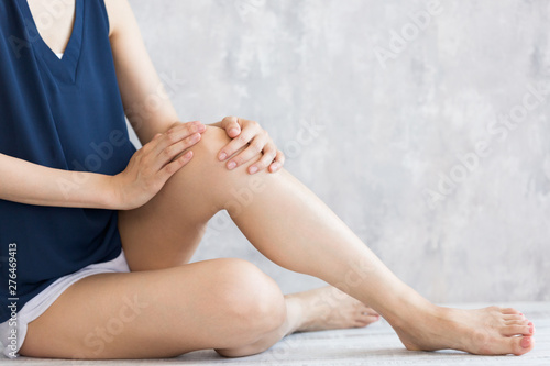 Photo 膝のスキンケア