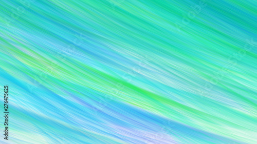 Wall Murals Green coral Abstract fantastic light blue and green shapes. Colorful fractal background. Digital art. 3d rendering.