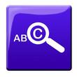 canvas print picture - Stichwort Suche - Symbol Icon