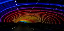 Coloured Sound Tube Bridge