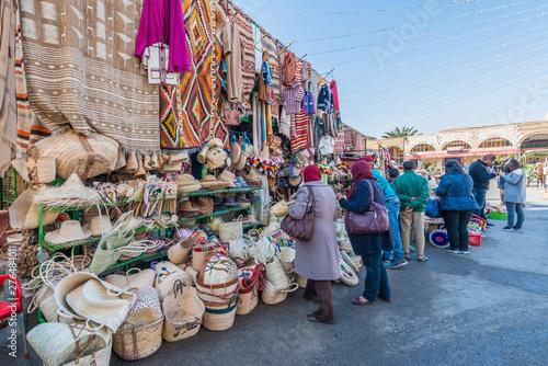 Fotografia Medina quarter in Tozeur, Tunisia