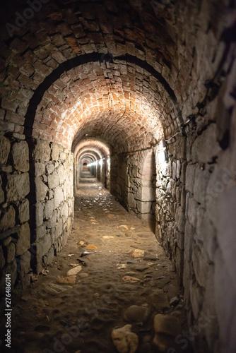 Fototapeten Schmale Gasse Festung Glatz Klodzko twietrdza klodzka