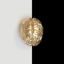 3d Render Image Of A Gold-colo...