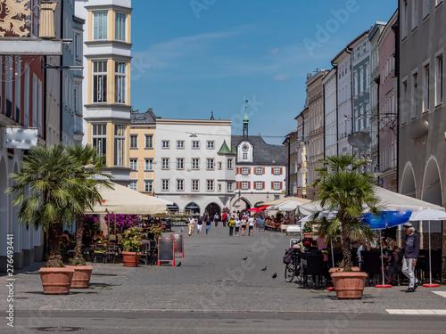 Foto Max-Josefs-Platz in Rosenheim Bayern