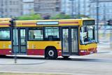 Fototapeta Londyn - Autobus miejski.