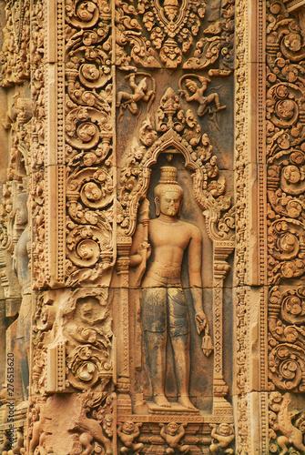 Banteay Srei Temple. Fototapete