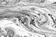 Leinwanddruck Bild - Abstract ink fluid marbled texture. Luxurious granite, marble mineral pattern wallpaper.