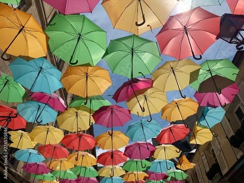 Poster Ecole de Danse Parapluies