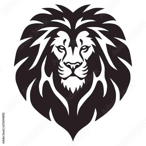 Fototapety, obrazy: Lion Head Logo Vector Template Illustration Design
