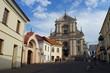 Main facade of the church of St. Theresa, Vilnius