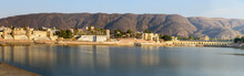 Panorama Of Ghats And Bridge A...