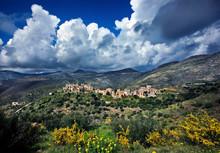 "Vathia, The ""archetypal"" Maniot Village, Mani Region, Laconia, Peloponnese."