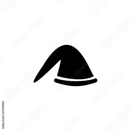 Photo  Beret icon. Winter clothes sign