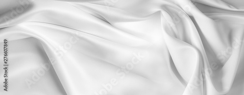 Fotografering White silk fabric lines