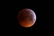 Total Lunar Eclipse January 21, 2019 Totality
