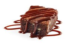 Piece Of Brownie Cake