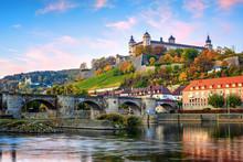 Wurzburg, Germany, Marienberg ...