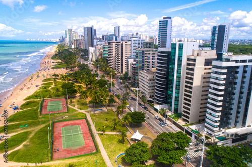 Praia de Boa Viagem, Recife, PE Canvas Print
