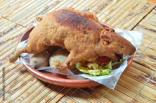 Fototapeta  Cuyes listos para comer