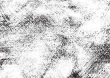 A Pale, Grungy, Black And White Texture Of An Acrylic Wash On Canvas. Ideal For Use As A Background Texture Or For Applying An Aged Or Vintage Effect To Graphics.