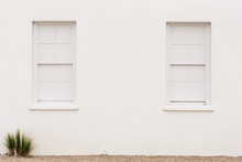White Wall In Marfa
