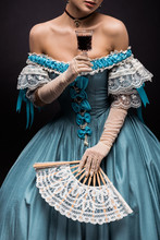 Cropped View Of Victorian Youn...
