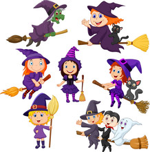 Halloween Young Witches Collec...