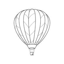 Air Ballon Simple Icon
