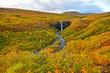 Svartifoss (Black Falls)  -  waterfall in Skaftafell in Vatnajökull National Park in Iceland,