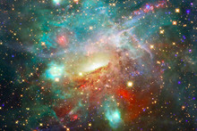 Beautiful Galaxy. Nebulae And ...