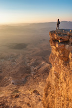 Watching Sunrise In The Negev ...