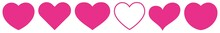 Heart Pink | Love | Logo | Variations