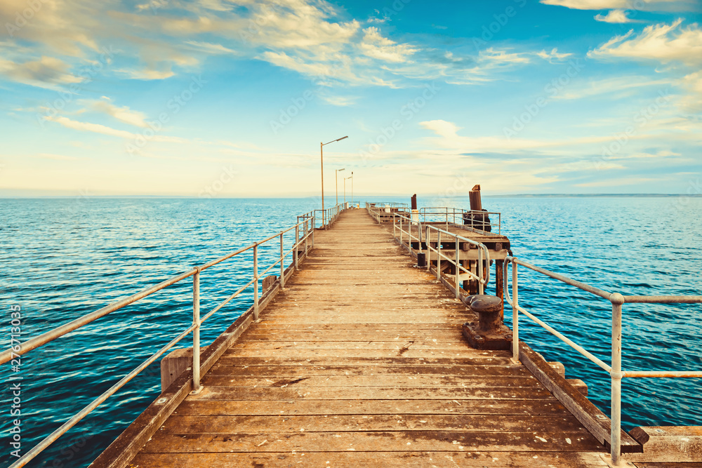 Fototapety, obrazy: Kingscote Jetty, Kangaroo Island