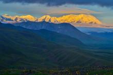 Sunrise View Of Mount Denali -...