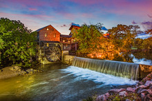 Pigeon Forge Tennessee TN Old Mill