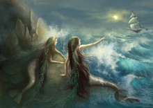 Hunting Two Mermaids In The Ro...