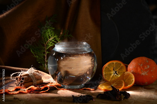 Canvas Prints Tea glass, drink, wine, alcohol, food,