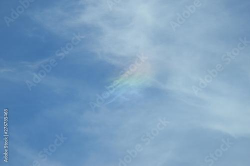 Fototapety, obrazy: Sun Dog above rural New York